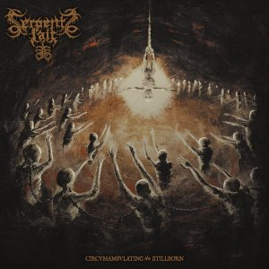 Serpents Lair - Circumambulating the Stillborn cover art