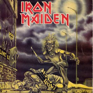 Iron Maiden - Sanctuary cover art