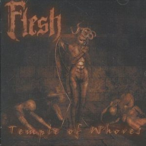Flesh - Temple of Whores cover art