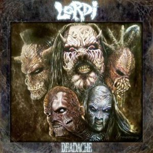 Lordi - Deadache cover art
