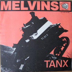 Melvins - Tanx cover art