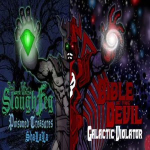 Bible of the Devil - Poisoned Treasures / Galactic Violator cover art