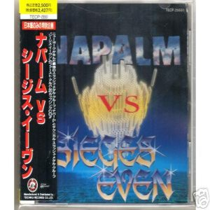 Napalm - Napalm vs. Sieges Even cover art