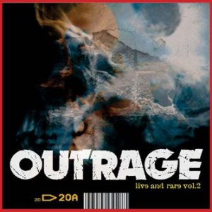 Outrage - Live & Rare Vol.2 cover art