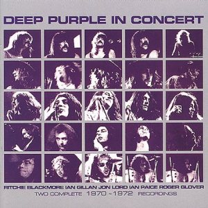 Deep Purple - Deep Purple in Concert 1970/1972 cover art