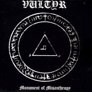 Vultyr - Monument of Misanthropy cover art