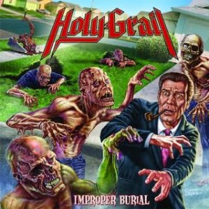 Holy Grail - Improper Burial cover art