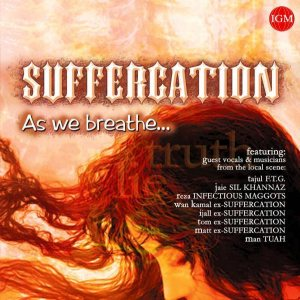 Suffercation - As We Breathe... cover art