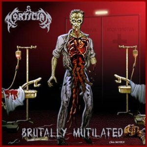 Mortician - Brutally Mutilated cover art