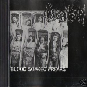 Androphagous - Blood Soaked Freaks cover art