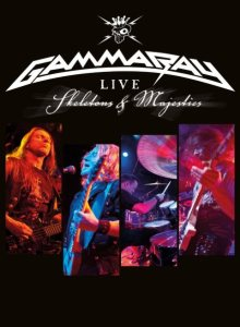 Gamma Ray - Skeletons & Majesties Live cover art