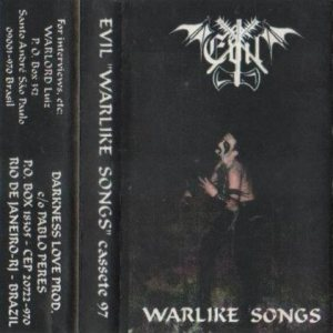 Evil - Warlike Songs cover art