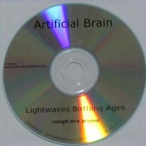 Artificial Brain - Lightwaves Birthing Ages cover art