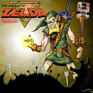 Mega Beardo - The Ledjent of Zelda cover art