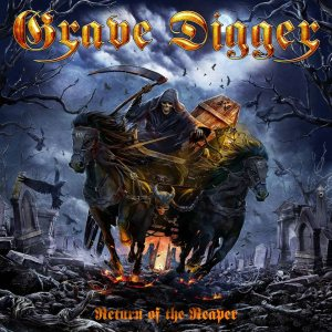 Grave Digger - Return of the Reaper cover art