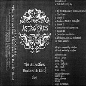Astrofaes - The Attraction: Heavens & Earth (live) cover art