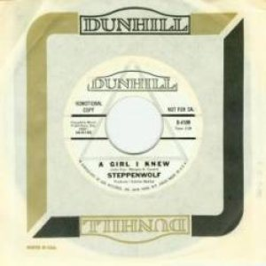 Steppenwolf - A Girl I Knew / the Ostrich cover art