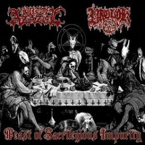 Kult ov Azazel / Vrolok - Feast of Sacrilegious Impurity cover art
