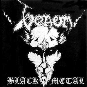 Venom - Black Metal cover art