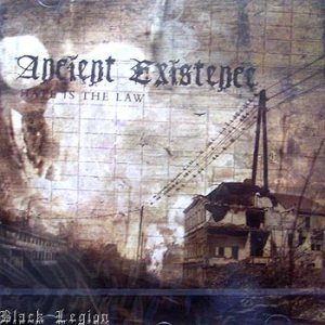 Ancient Existence - Hate Is the Law cover art