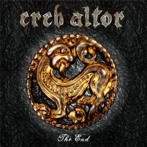 Ereb Altor - The End cover art