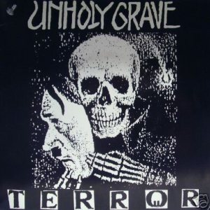 Unholy Grave - Terror cover art