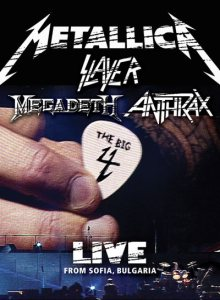 Metallica - The Big Four: Live From Sofia, Bulgaria cover art