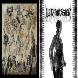 Witchmaster - Hater of Fucking Humans / Blood Bondage Flagellation cover art