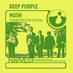 Deep Purple - Hush / Speed King cover art