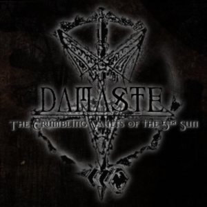 Damaste - The Crumbling Vaults of the 5th Sun cover art