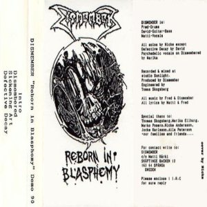 Dismember - Reborn in Blasphemy cover art