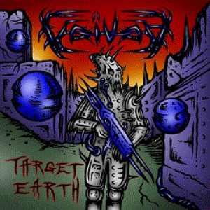 Voivod - Target Earth cover art