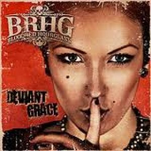 Bloodred Hourglass - Deviant Grace cover art