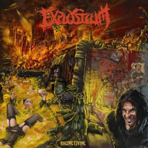 Explosicum - Raging Living cover art