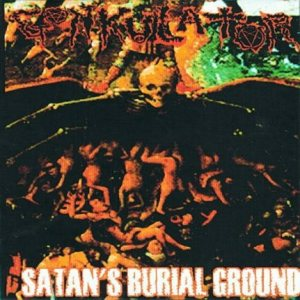 Gonkulator - Satan's Burial Ground cover art