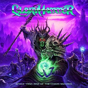 Gloryhammer - Space 1992: Rise of the Chaos Wizards cover art