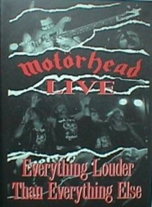 Motorhead - Everything Louder Than Everything Else cover art