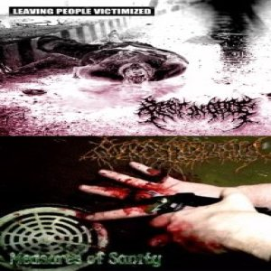 Rest in Gore - Leaving People Victimized / Measures of Sanity cover art