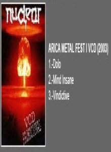 Nuclear - Arica Metal Fest I cover art
