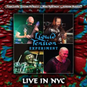 Liquid Tension Experiment - Live in NYC cover art