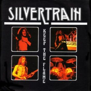 Silvertrain - Keep the Flame cover art
