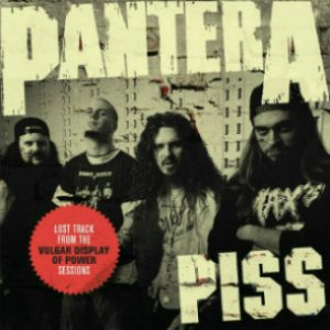Pantera - Piss cover art