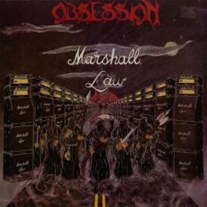 Obsession - Marshall Law cover art