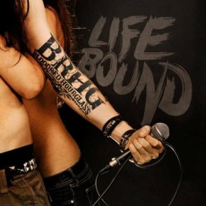 Bloodred Hourglass - Lifebound cover art