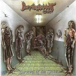 Dethronement - Survival of the Sickest cover art