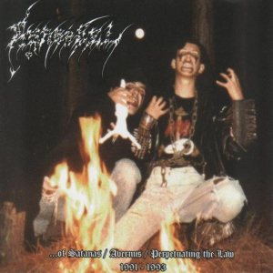 Asaradel - ...of Satanas / Avernus / Perpetuating the Law cover art