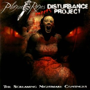 Plague Rages / Disturbance Project - The Screaming Nightmare Continues cover art