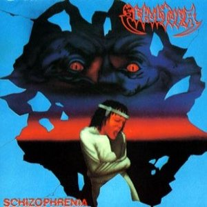 Sepultura - Schizophrenia cover art