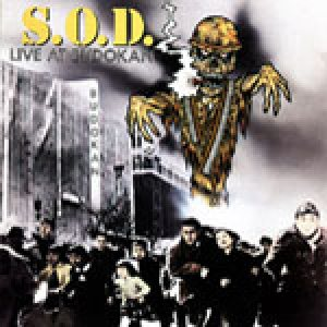 Stormtroopers of Death - Live at Budokan cover art