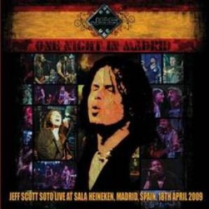 Jeff Scott Soto - One Night in Madrid cover art